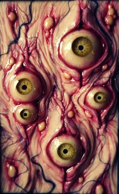 Eeew.  Interesting though and great technique. eyescape by dogzillalives.deviantart.com on @DeviantArt