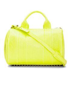Fashion's favorite bag just got brighter (Alexander Wang)