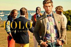 Polo Ralph Lauren 2014 - Vaquero, tweed, patch y pajarita. Mezcla de clásicos y tendencia.
