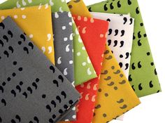 Red Pepper Quilts: Sunday Stash #172 - Comma by Zen Chic for Moda