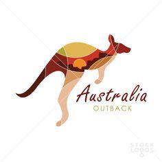 Kangaroo Australia Landcape