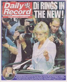 On Wednesday August 28th in 1996, Princess Diana visited the English National Ballet in London, to attend a luncheon. This is the day her divorce from Prince Charles became official.
