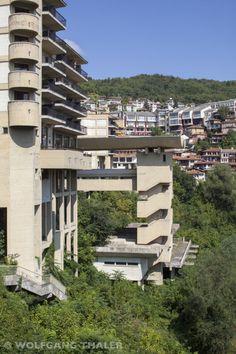 SOS Brutalism: Nicola Nicolov, Interhotel, Veliko Tarnovo, Bulgaria, 1981. Photo: © Wolfgang Thaler