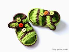 Beauty Crochet Pattern: CROCHET BABY BOY SANDALS