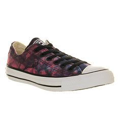 Converse Converse All Star Low Red Radio Blue Tie Dye - Unisex Sports