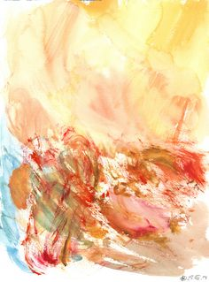 Untitled (Berlin) Watercolour on paper | 31x23 cm | 2014 | OCH-A-14-