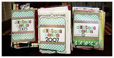 eighteen25: Christmas card books