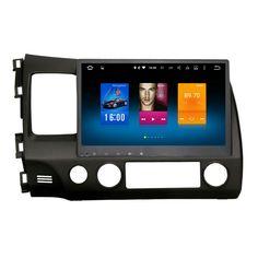 Car 2 din android GPS for Honda Civic 8 autoradio navigation head unit multimedia radio broswer 2Gb+32Gb Android 6.0 PX5 8-Core