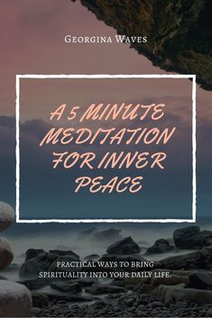 Learn how to meditate and find inner peace, happiness, and joy. Connect to your life purpose and more.