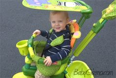 Spotlight Video Review: Fisher-Price Stroll-to-Ride Trike