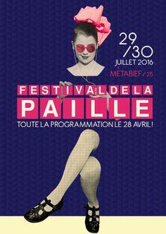 FESTIVAL DE LA PAILLE 2016 Movie Posters, Movies, Music Festivals, Program Management, Films, Film Poster, Film Books, Film Posters, Movie Theater