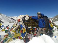 Nepal - Into the thin air - Thorong La Pass 5416 Mts - http://www.travelmoodz.com/nl/reisprofessional/saujanya-parajuli