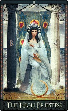 ☆ The High Priestess Tarot Card :→:  By Acheronnights ☆