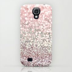 Girly Pink Snowfall Samsung Galaxy S4 Case by Lisa Argyropoulos
