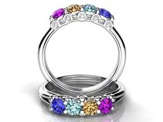 44 Best Family Ring Mother Ring Ideas Images Mother