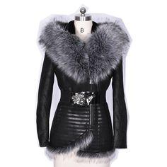 66e4807384446 Factory direct supply Faux Fur coat women fur bts winter jacket suede Warm plush  Artificial fox