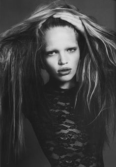 Magazine: Vogue Paris September  Model: Daphne Groenveld  Photographer: Mert & Marcus  Stylist: Carine Roitfeld