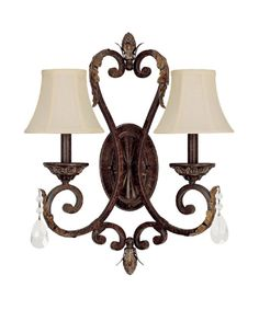 A sconce for my new house.