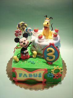Mickey & Pluto inspired by Antonella Di Maria