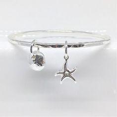 "9/"" Sterling Silver Figure 8 Link 6mm wide traditional Charm Bracelet"