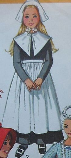 This is what lil pilgrim girls looked like,,yes it is..YES it is  :(