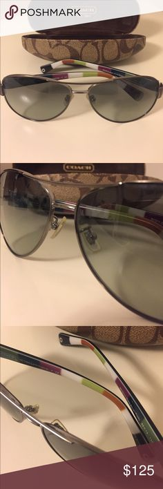 01832db368 Spotted while shopping on Poshmark  Coach Aviator Sunglasses!  poshmark   fashion  shopping