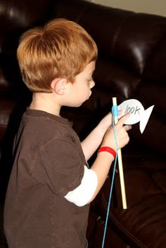 Fishing for Sight Words - know the word, keep the fish, don't know the word, sound it out and throw it back!