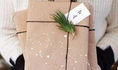 sneeuw op je pakpapier