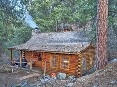 005 Small Log Cabin Homes Ideas