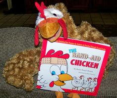 Perfect Picture Book The Band-Aid Chicken by Becky Henton ages 4-9 based on real chicken pecking-order behavior http://corneroncharacter.blogspot.com/2013/10/ppbf-band-aid-chicken.html
