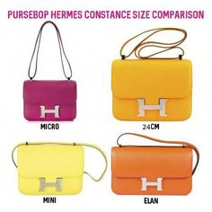 c98f984b4ebb We re back with another Hermes 101 Class! Learn in-depth about the Hermes  Constance Bag from features