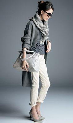 New Womens Dress Pants Grey Ideas Fashion Mode, Fashion Pants, Love Fashion, Fashion Outfits, Womens Fashion, Fashion Trends, Trendy Fashion, Style Fashion, Look Street Style
