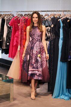 "Option #1 - Monique Lhuillier   ""Help Me Pick My Oscar Dress""   Front Roe by Louise Roe"