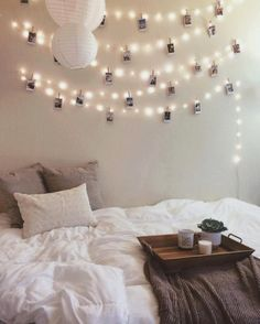 string lights for extra decor