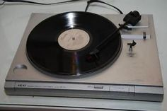 Great Vintage AKAI AP-A1 Turntable Vinyl Record Player WORKS!