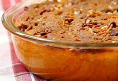 Need a vegan do-over of your family recipe for yams? Just for you, this Sweet Potato Casserole with Pecan Topping.