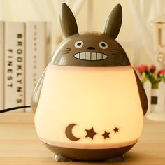kawaii cartoon Totoro lamp 170*130*240mm night light E27 15W luminaria night lamp cute moon star lamp night light for children -in Desk Lamps from Lights & Lighting on Aliexpress.com | Alibaba Group