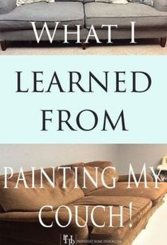 painting a couch with chalk paint, chalk paint, how to, painted furniture, reupholster