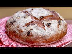 Cinnamon Raisin Bread (No-Knead Recipe) - Gemma's Bigger Bolder Baking Pain Aux Raisins, Raisin Sec, High Altitude Baking, Bigger Bolder Baking, Homemade Soft Pretzels, Homemade Buns, Pretzels Recipe, Cinnamon Raisin Bread, Brunch