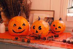 Halloween-pumpor