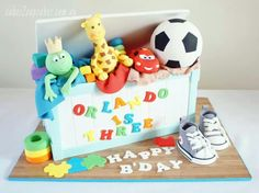 Toy Box Cake Designs For Boy One Tier Girl