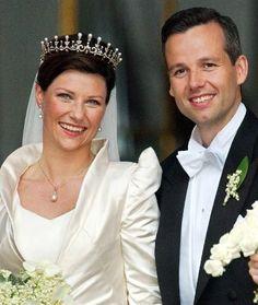 princess Märtha Louise of Norway and Ari Behn, May 24. 2002