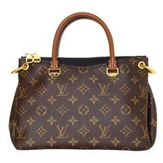 Louis Vuitton Monogram Canvas & Black Leather Pallas BB Crossbody Bag