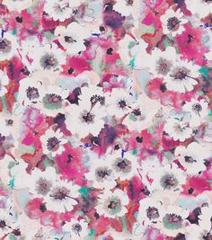 SUEDEsays Fabric-Floral Crinkle