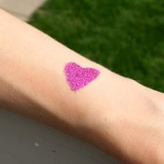 Create a DIY Glitter Tattoo kit as a present or an activity for a birthday party! Fun, easy + cheap!