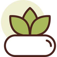 Botanic free vector icon designed by Darius Dan Echeveria, Christmas Carol, Vector Icons, Vector Free, Plant Icon, Icon Font, Gradient Color, Icon Design, Succulents Garden