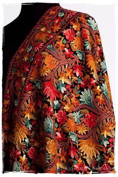 The Antiquaires Shawl Collection — Seasons by The Kashmir Company Pakistani Fashion Party Wear, Pakistani Bridal Dresses, Indian Fashion, Indian Attire, Indian Wear, Indian Outfits, Paisley, Kashmiri Shawls, Mens Sherwani