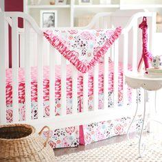 New Arrivals Crib Bedding Penelope Pink