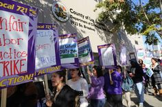 Social Workers Respond to the LA County Social Workers Strike- Support SEIU 721