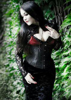 Gothic Girls Mode Steampunkmode Ny Stilmode Tips Gothkunst